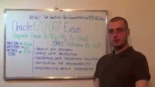 1Z0-067 – Oracle Exam OCA Database Test OCP Questions