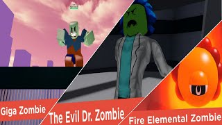 Zombie Strike (Beta) (all bosses thus far)- Roblox OLD