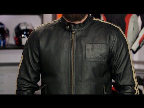 Alpinestars Oscar Charlie Leather Jacket Review at RevZilla.com