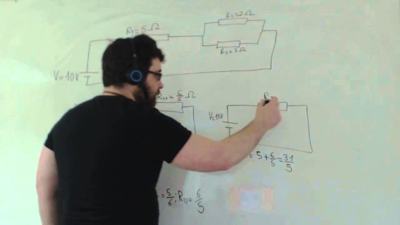 Circuito En Paralelo Ejemplos : Circuito electrico ejercicios resueltos tecnología 3º eso academia