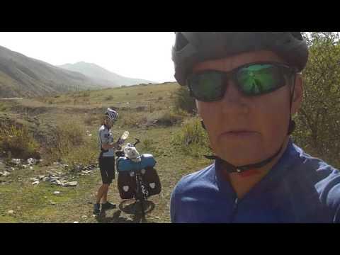 The Pamir Highway on bike   Movie 1