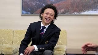 スノボ平野歩夢選手がW杯前に知事を表敬訪問 片山来夢 検索動画 29