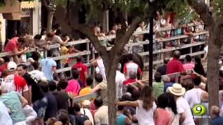 Lumbrito - Toro del Cajón 2015 - Un hombre resulta cogido - Medina del Campo