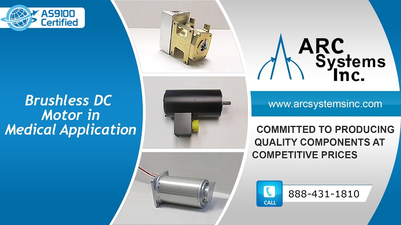 Brushless dc motors in medical applications from arc for Brushless dc motor applications