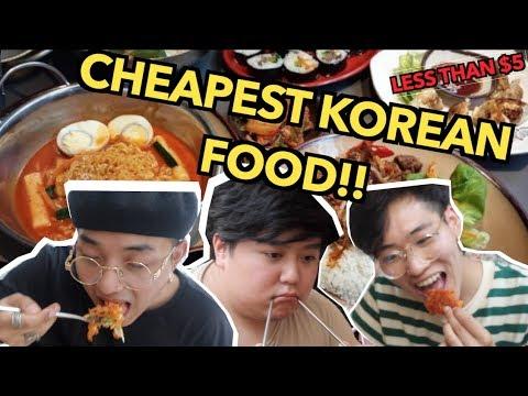 CHEAPEST KOREAN FOOD IN LONDON?!? (Okanees food tour Seoul bakery edition)