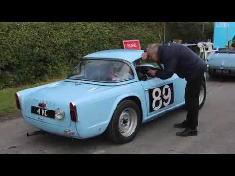Kop Hillclimb On Board An Ex Works Triumph Tr4 4vc Youtube