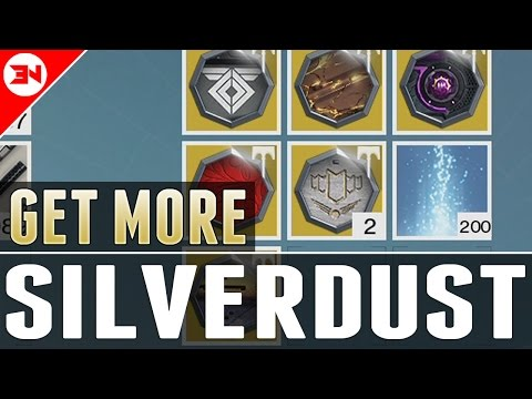 How To Get Silverdust - Silverdust Glitch ? - Rise Of Iron Silverdust - Radiant Treasures