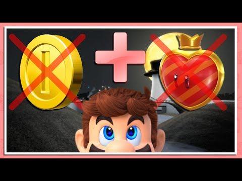 NO DAMAGE + NO COINS RUN | Super Mario Odyssey