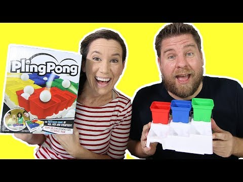 Pling Pong Game - Bounce The Ball In