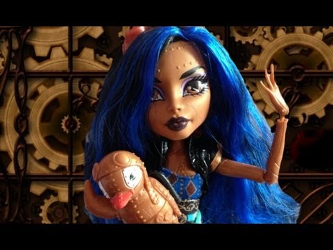 Robecca steam monster high review youtube - Monster high robecca steam ...