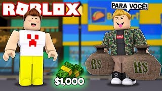 AN INSCRIBED GAVE ME R $1 MILLION REAIS IN ROBLOX!!