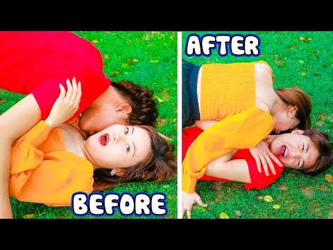 Funny Girls! 23 Situation In Movies Vs In Real Life | Funny Prank By By V-FUN