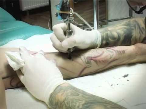 Tattoo Szpila Jelenia Góra Backstage