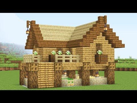 Стартовый дом с животными и огородом