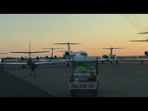 Morning Departure Gulfstream V Teterboro Airport