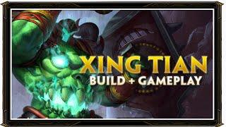 SMITE BRASIL - XING TIAN BUILD + GAMEPLAY!
