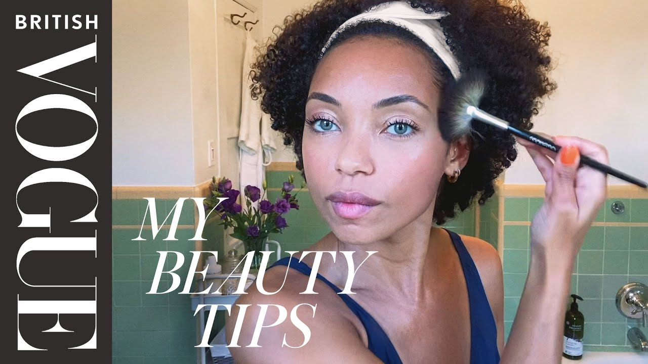 Logan Browning's Guide To Mastering Smudge-Proof Makeup | My Beauty Tips | British Vogue