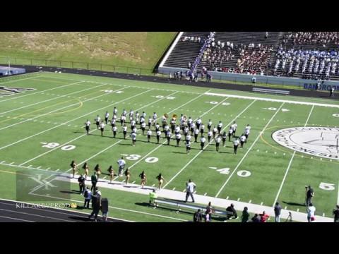 Morrow vs North Atlanta High School Marching Band - 2017 #BRNUBC