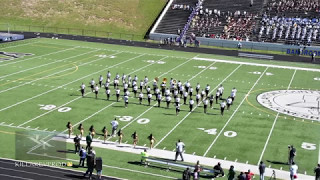 morrow vs north atlanta high school marching band 2017 brnubc