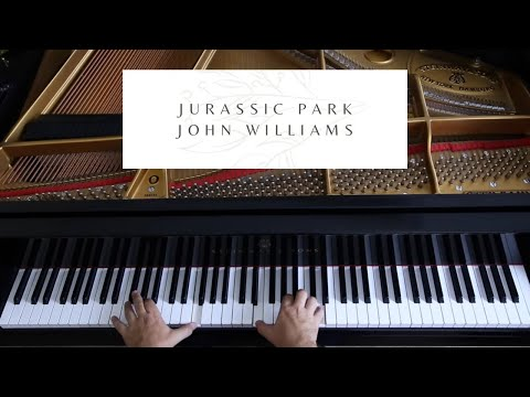 Welcome To Jurassic Park - John Williams - David Hicken Piano Solo