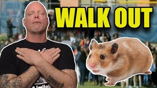 Therapy Hamsters, School Walkouts and Dave's Death Bed