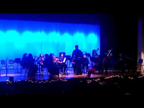 Spring Oaks Middle School Christmas Orchestra