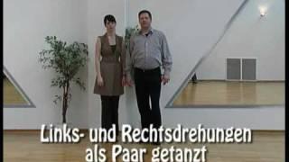 Tanzkurs per DVD V - Gold - Die Linksdrehung im Wiener Walzer