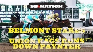 Belmont Stakes Results: Union Rags Runs Down Paynter to Capture Last Leg of 2012 Triple Crown