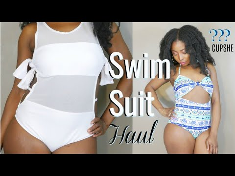 Trying On Trendy  Affordable Swimsuit / Bikini  CURVY | 2018 Honest Review  |  Is CUPSHE Any Good ?