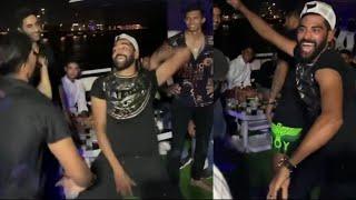 Watch Mohammed Siraj doing Hyderabadi Marfa dance with RCB teamates