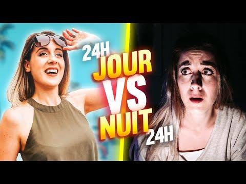 VIVRE LE JOUR VS VIVRE LA NUIT - 24H CHALLENGE | DENYZEE