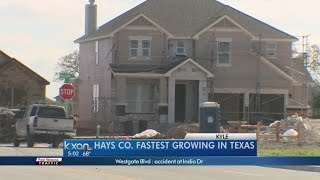 US Census Bureau Releases New Data - Austin/RR area Third Fastest Growing