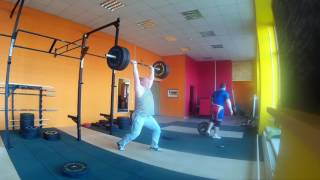 "#ТяжелаяАтлетика ""ТолкаемТянемПриседаем"" Weightlifting"