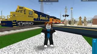 Railfanning Affton MO in Roblox