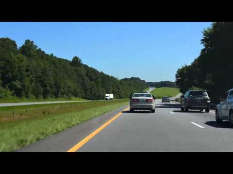 Interstate 77 - North Carolina (Time-Lapse)