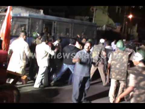 Newswala : Communal Tension in Musheerabad area in Hyderabad on October 24, 2012