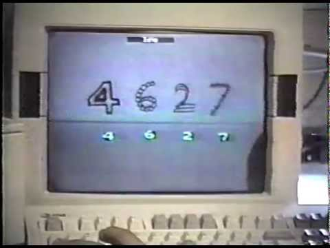 Convolutional Network Demo from 1993