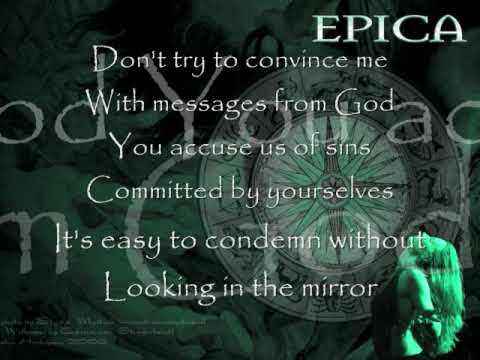 Epica-Cry For The Moon (w/lyrics)