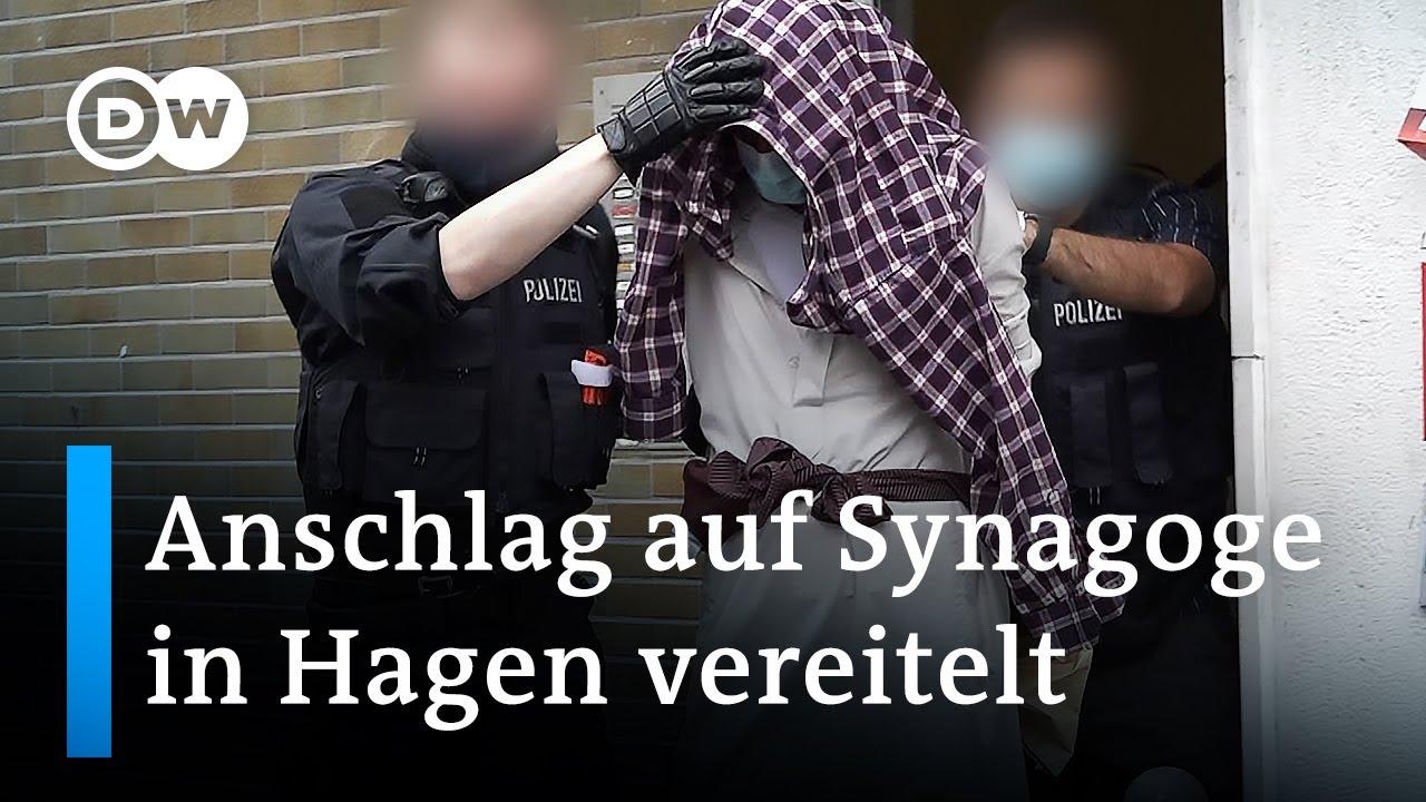 Download Festnahmen nach Einsatz vor Synagoge in Hagen   DW Nachrichten