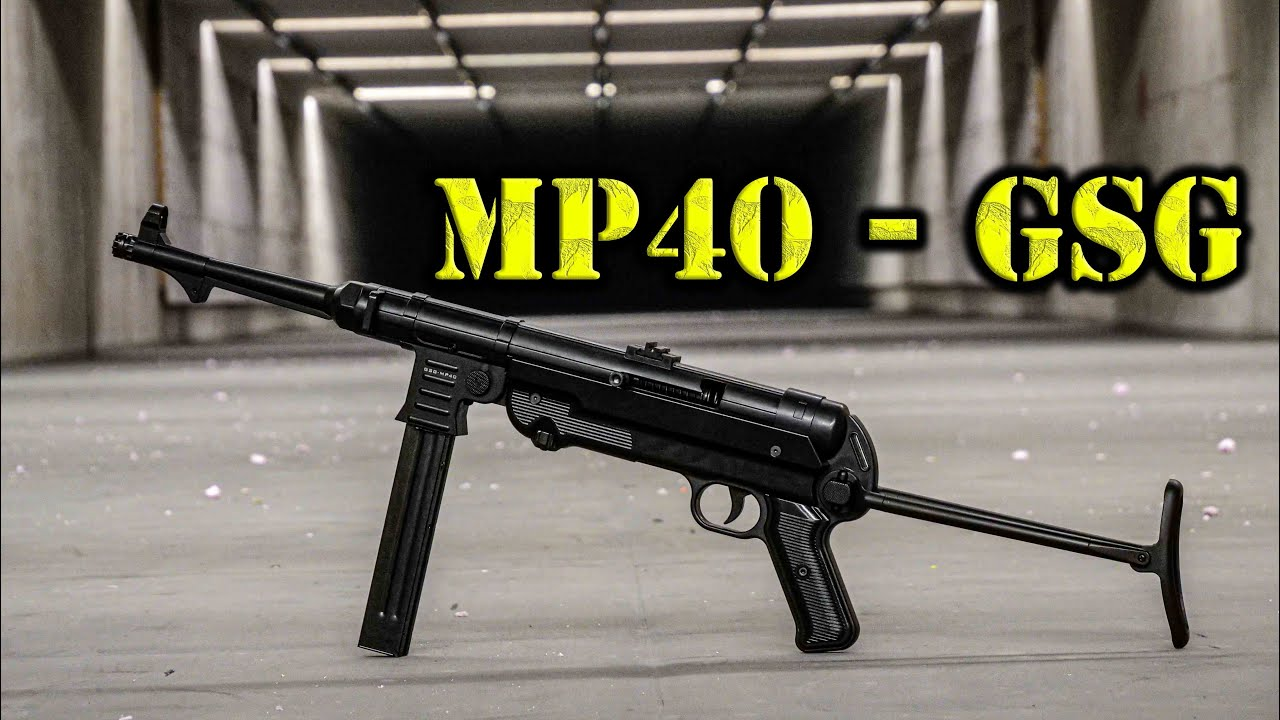 🔫 MP40 GSG | 9mm Luger