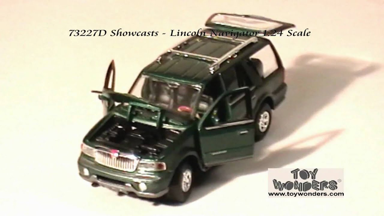 73227d Showcasts Lincoln Navigator 124 Diecast Wholesale