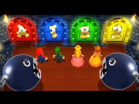 Mario Party 9 MiniGames - Peach Vs Mario Vs Daisy Vs Luigi (Master Cpu)