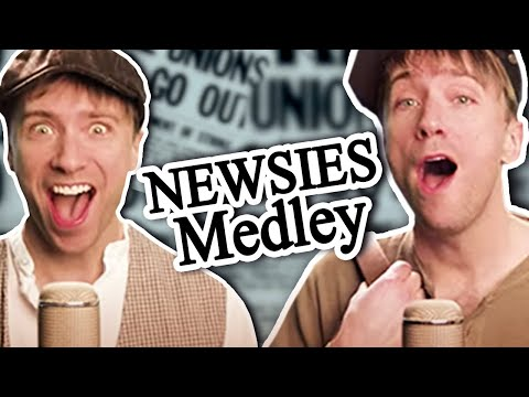 Newsies In Under 5-Minutes! (A Cappella Style)