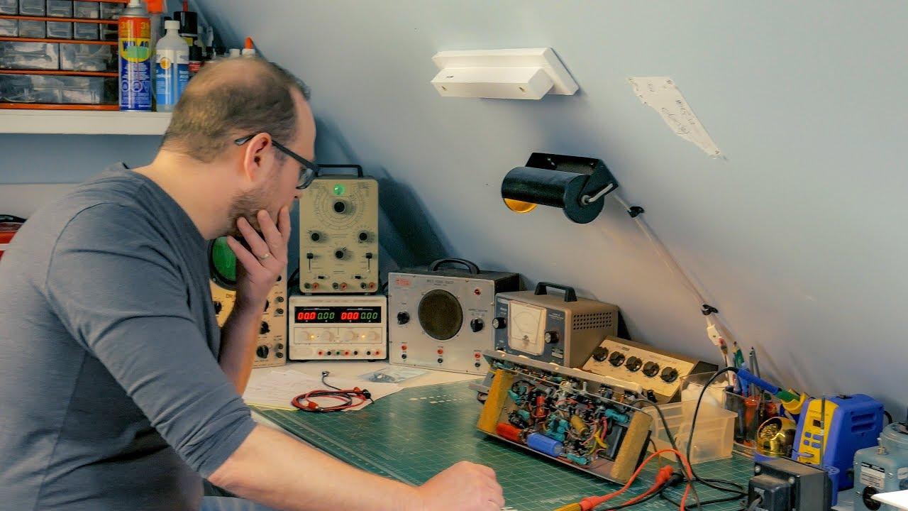 Vintage Electronics Repair Doentary