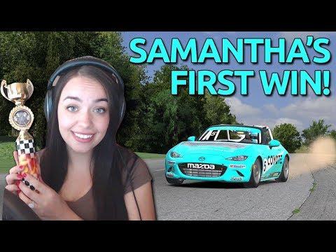 Samantha\'s First Win!! | Race #4