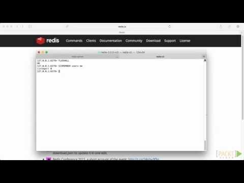 Building Databases With Redis Tutorial: Chatting Application | Packtpub.com