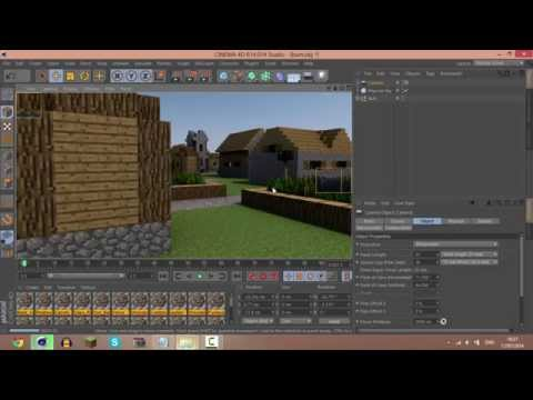 Minecraft To Cinema 4D Tutorial : Mineways
