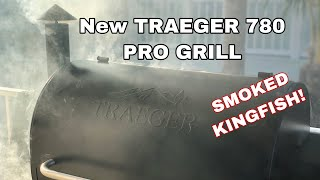 New Traeger 780 Pro grill And SMOKER Kingfish!