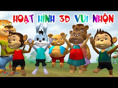 Phim Hoạt Hình 3D Vui Nhộn Cho Trẻ Em