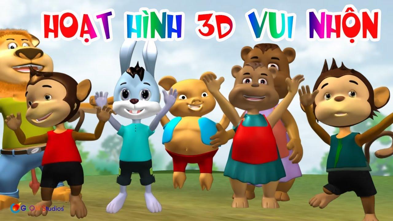 Phim Hoạt Hình 3D Vui Nhộn Cho Trẻ Em – Hoạt Hình Thiếu Nhi Việt Nam
